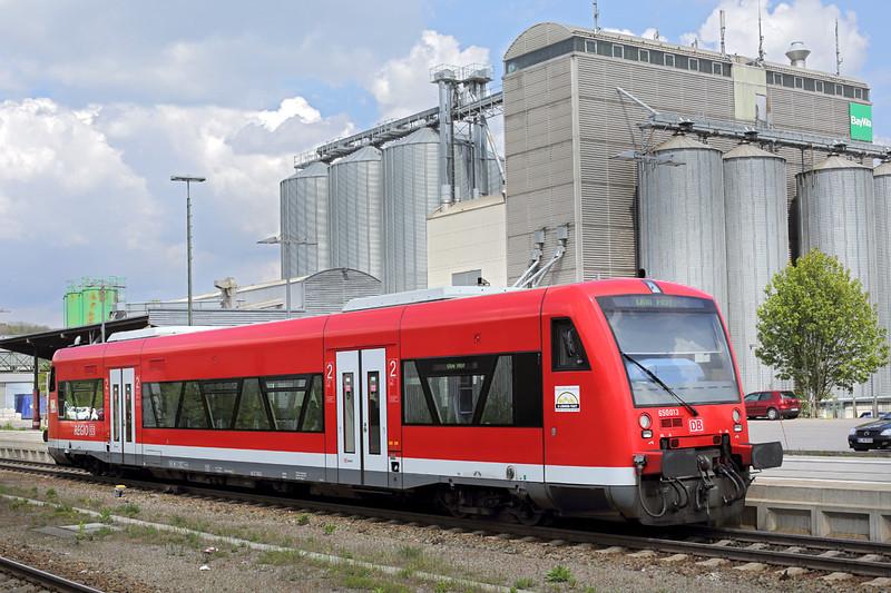 650013 Biberach 3/5/2016<br /> RB22658 1330 Biberach Sud-Ulm Hbf