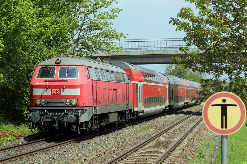 218412 Meckenbeuren 3/5/2016<br /> IRE4229 1002 Stuttgart Hbf-Lindau Hbf