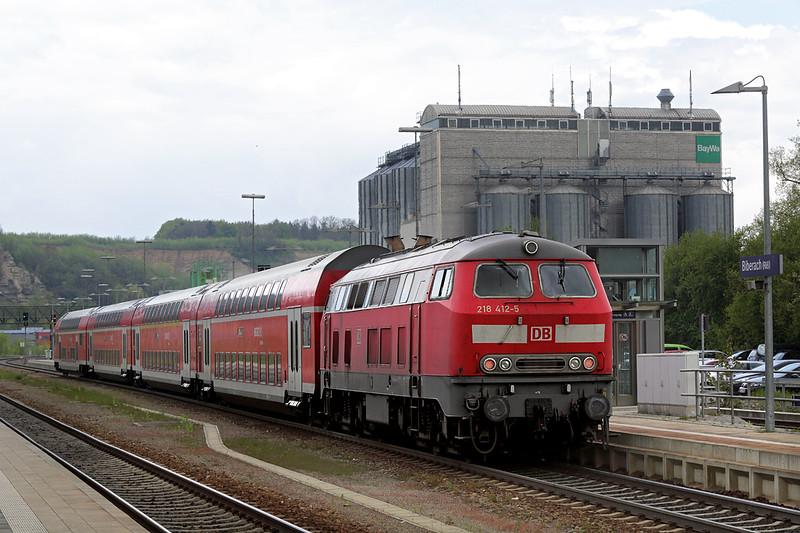 218412 Biberach 3/5/2016<br /> IRE4230 1306 Lindau Hbf-Stuttgart Hbf