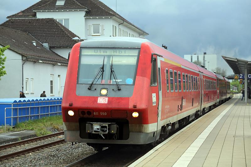 611550 Ravensburg 3/5/2016<br /> IRE3049 1605 Radolfzell-Ulm Hbf