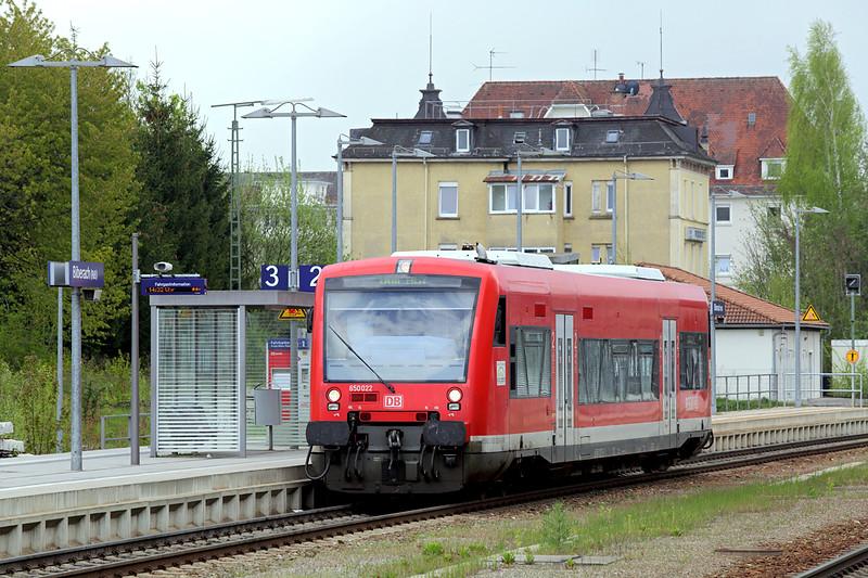 650022 Biberach 3/5/2016<br /> RB22662 1430 Biberach Sud-Ulm Hbf