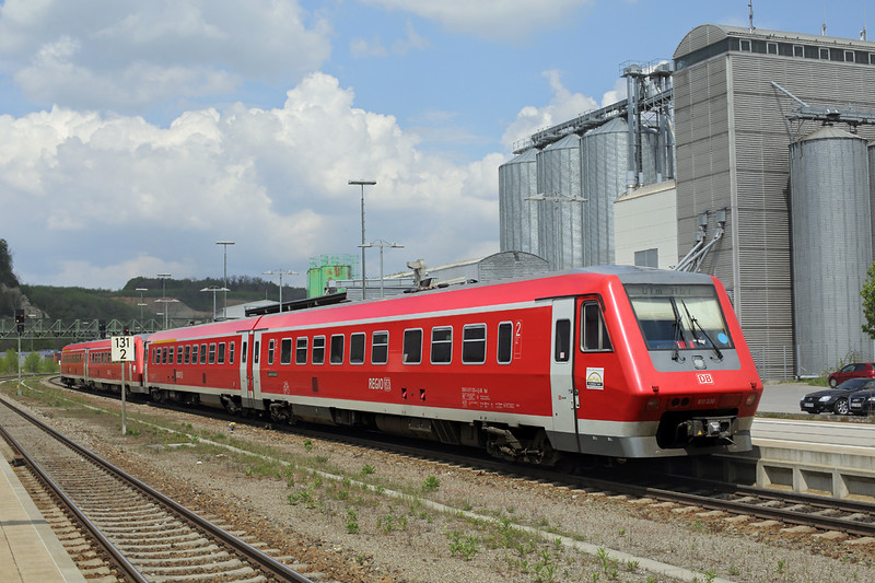 611036 Biberach 3/5/2016<br /> IRE3045 1205 Radolfzell-Ulm Hbf