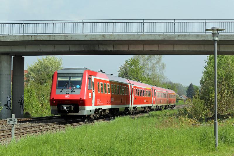 611007 Meckenbeuren 3/5/2016<br /> IRE3043 1005 Radolfzell-Ulm Hbf