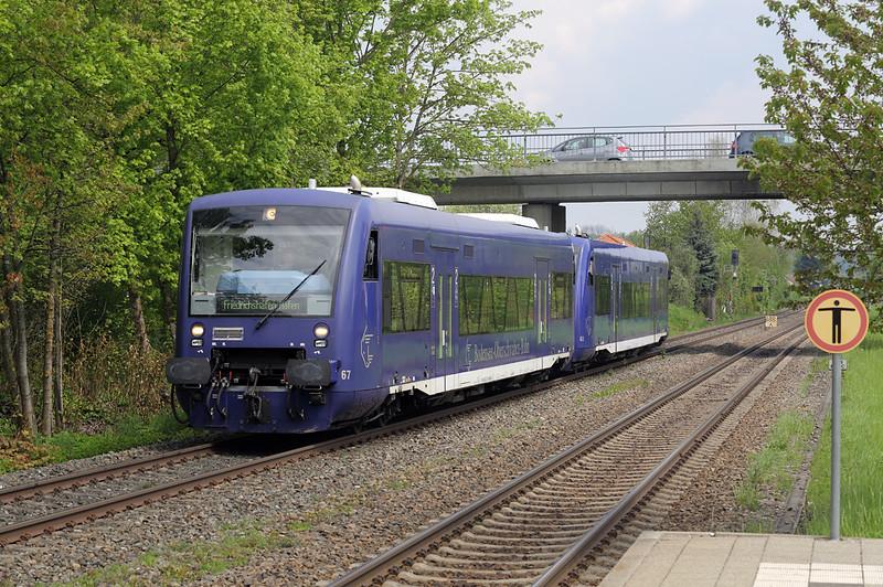 650357 Meckenbeuren 3/5/2016<br /> BOB87569 1108 Aulendorf-Friedrichshafen Hafen
