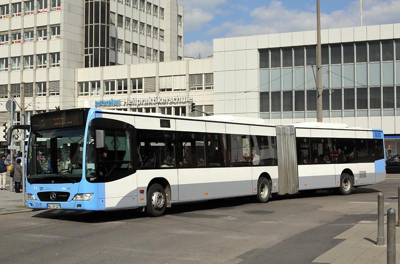 127 NU-SM 127, Hauptbahnhof 4/5/2016