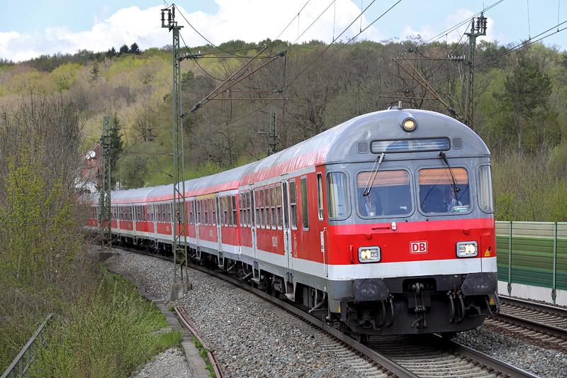 143900 (on rear), Westerstetten 4/5/2016<br /> RB19321 1227 Plochingen-Ulm Hbf