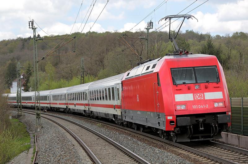 101041 Westerstetten 4/5/2016<br /> IC2260 1248 München Hbf-Karlsruhe Hbf