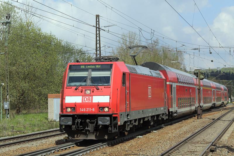 146211 Amstetten 4/5/2016<br /> IRE4225 1002 Stuttgart Hbf-Lindau Hbf