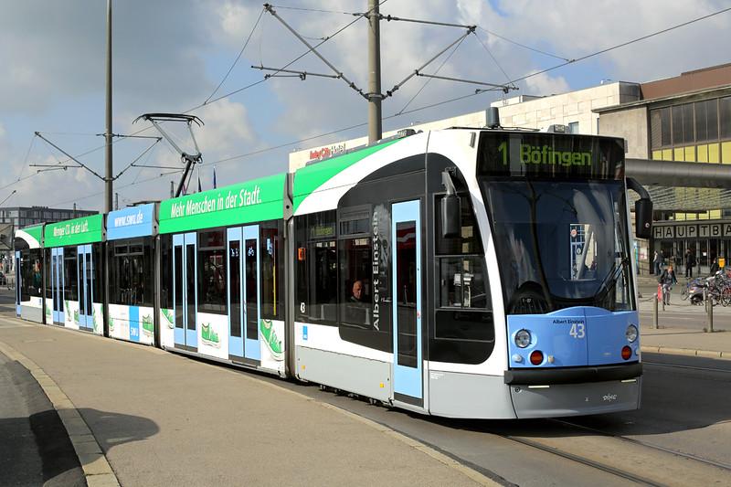 43 Hauptbahnhof 4/5/2016