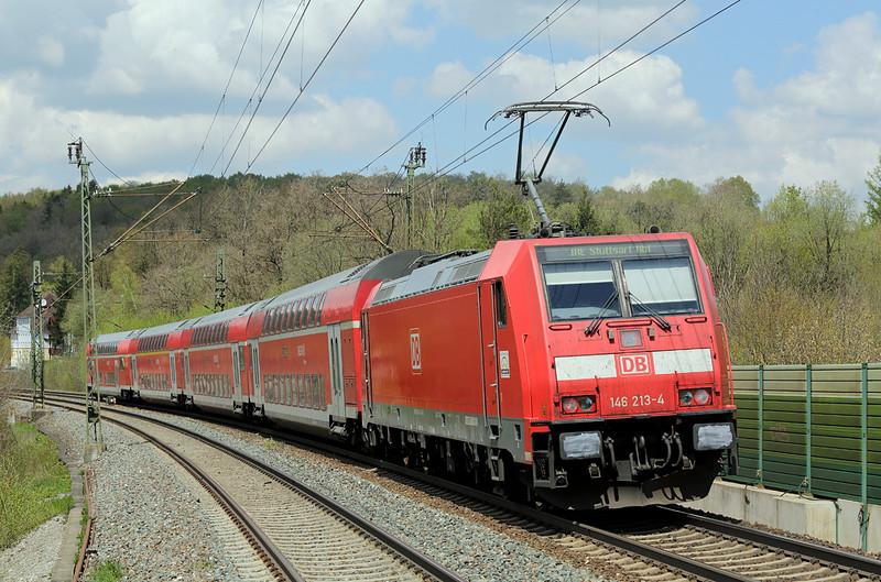 146213 Westerstetten 4/5/2016<br /> IRE4228 1102 Lindau Hbf-Stuttgart Hbf