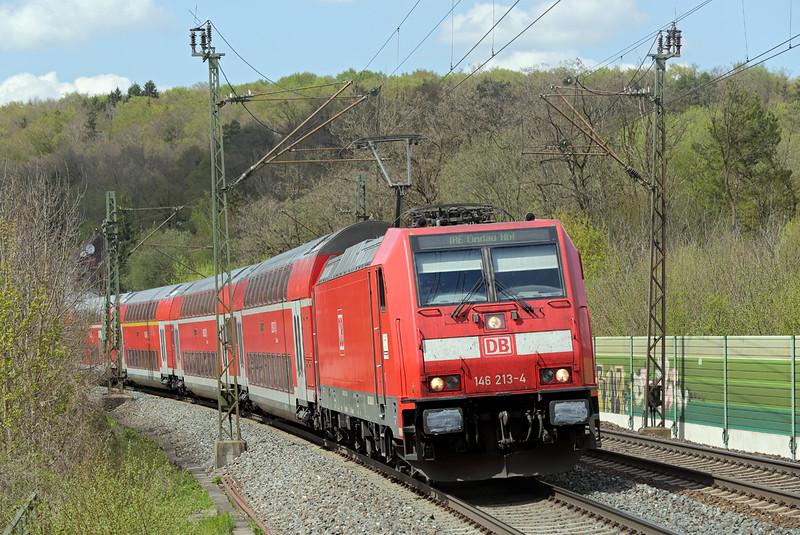 146213 Westerstetten 4/5/2016<br /> IRE4229 1402 Stuttgart Hbf-Lindau Hbf