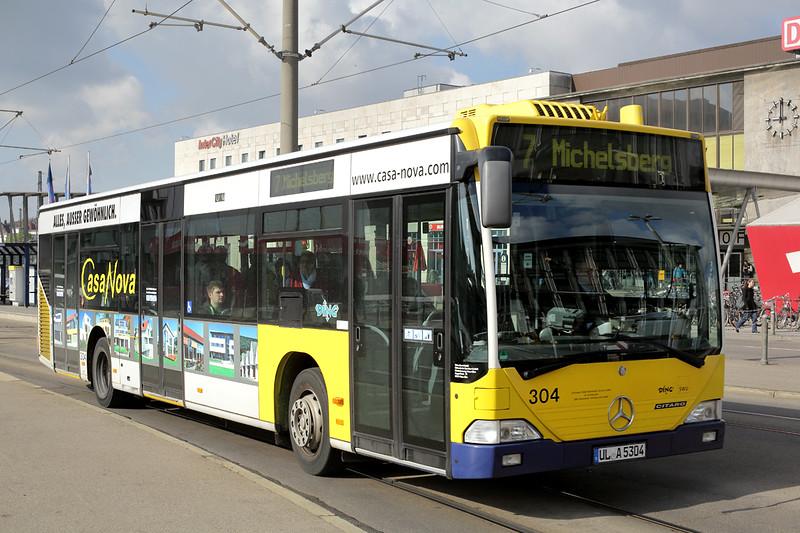 304 UL-A 5304, Hauptbahnhof 4/5/2016