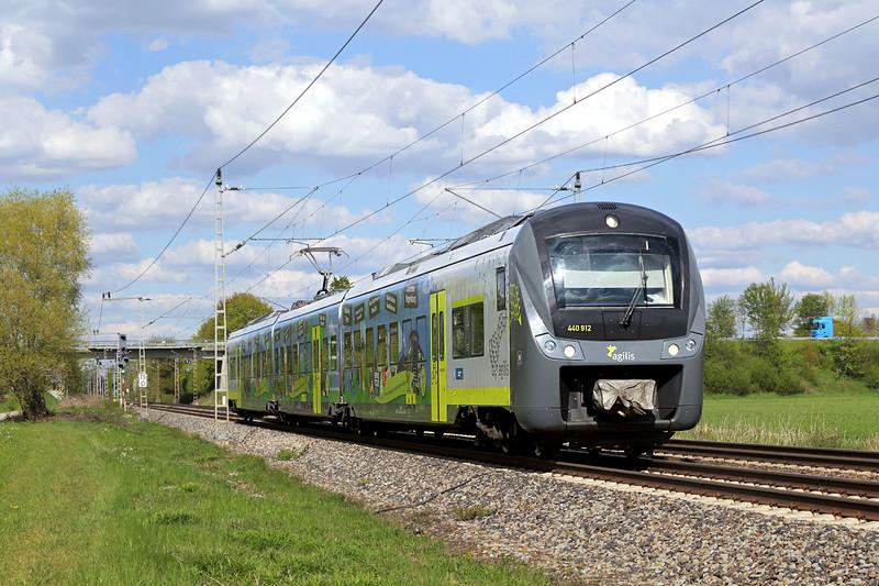 440912 Nersingen 4/5/2016<br /> AG84262 1502 Ingoldstadt Hbf-Ulm Hbf