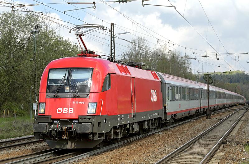 1116 096 Amstetten 4/5/2016<br /> EC113 0822 Frankfurt (M) Hbf-Klagenfurt Hbf