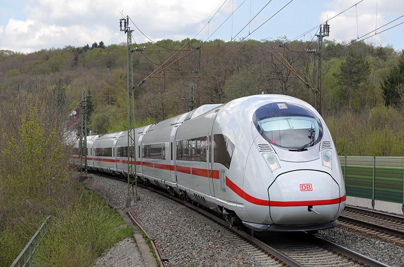 407017 Westerstetten 4/5/2016<br /> ICE515 0837 Dortmund Hbf-München Hbf