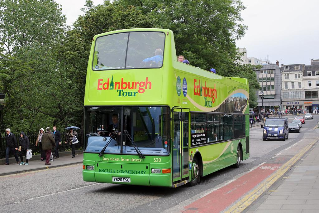 520 V520ESC, Edinburgh 4/7/2016