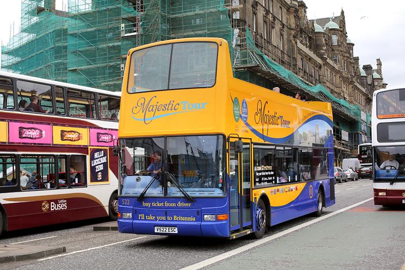 522 V522ESC, Edinburgh 4/7/2016