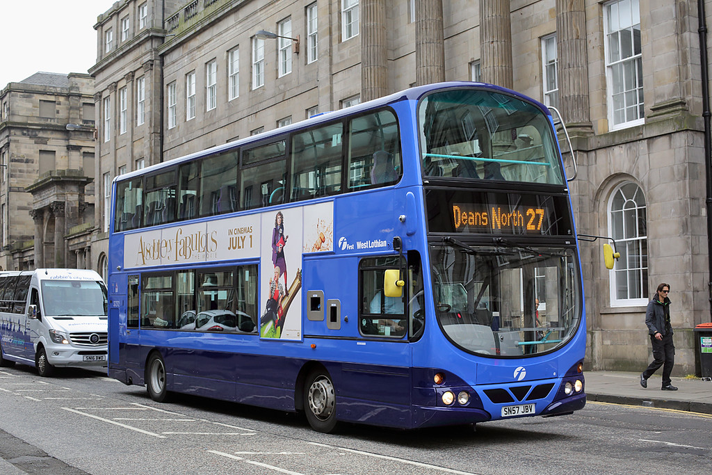 37272 SN57JBV, Edinburgh 4/7/2016