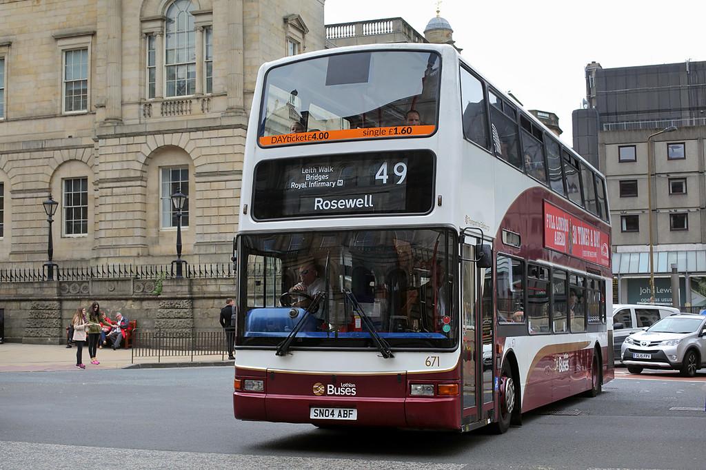 671 SN04ABF, Edinburgh 4/7/2016