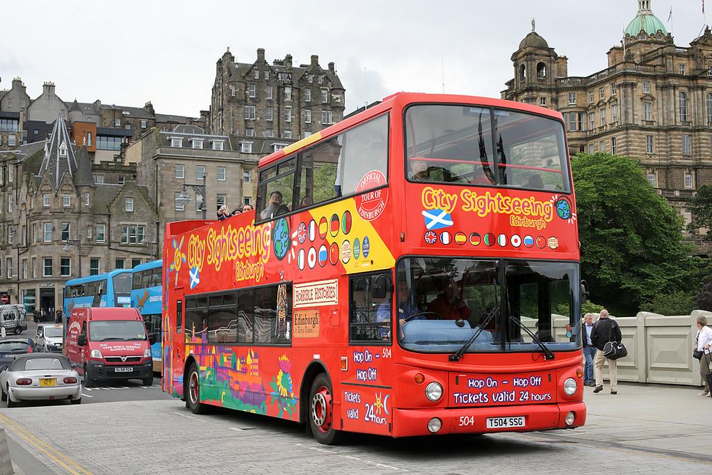 504 T504SSG, Edinburgh 4/7/2016