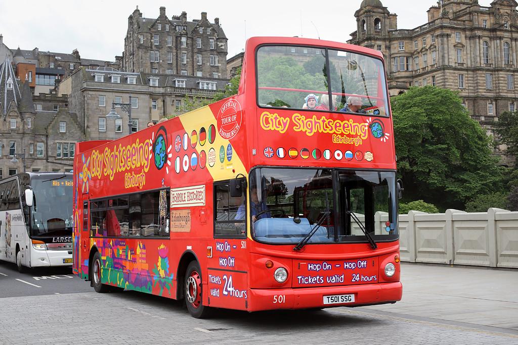 501 T501SSG, Edinburgh 4/7/2016