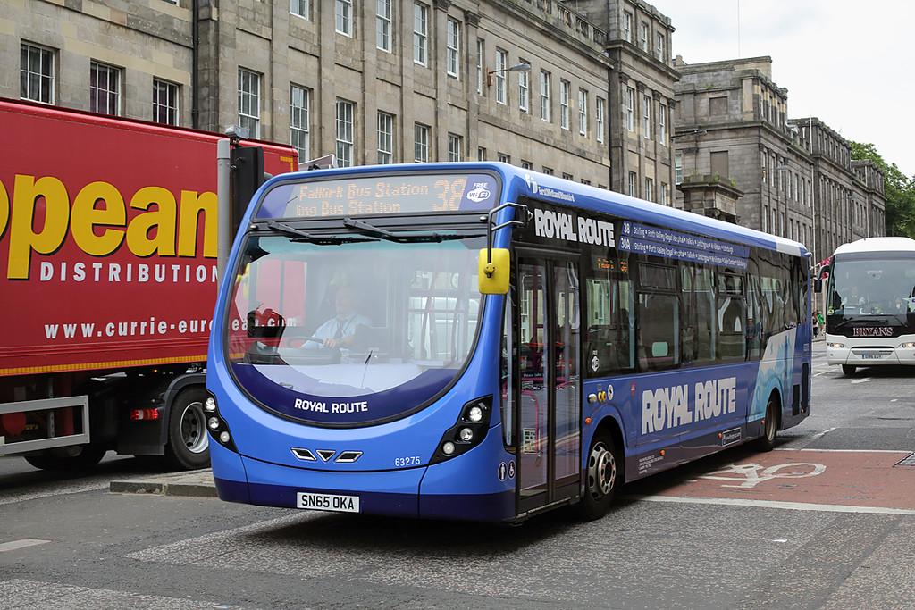 63275 SN65OKA, Edinburgh 4/7/2016