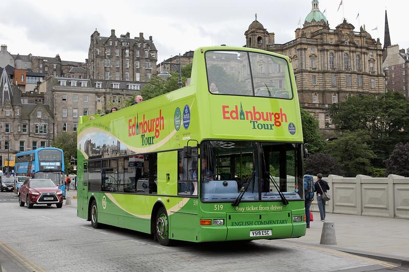 519 V519ESC, Edinburgh 4/7/2016