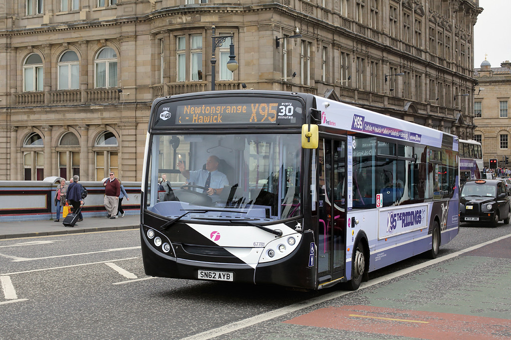67781 SN62AYB, Edinburgh 4/7/2016