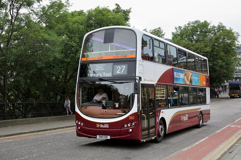 380 SN11EDC, Edinburgh 4/7/2016