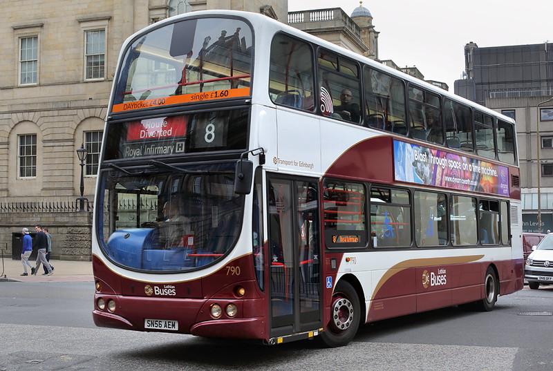 790 SN56AEM, Edinburgh 4/7/2016