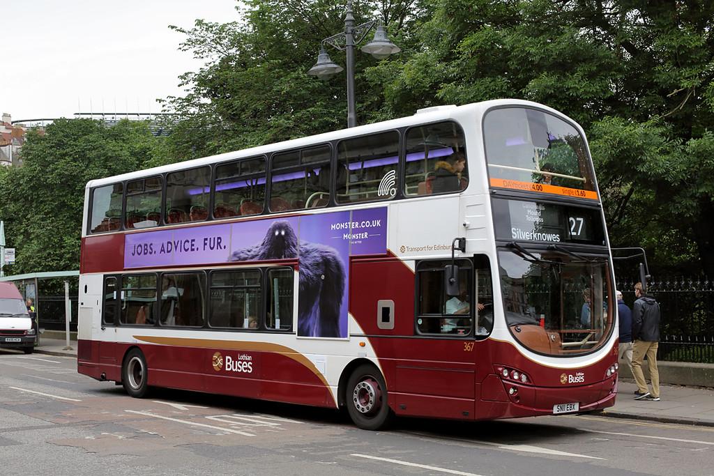 367 SN11EBX, Edinburgh 4/7/2016