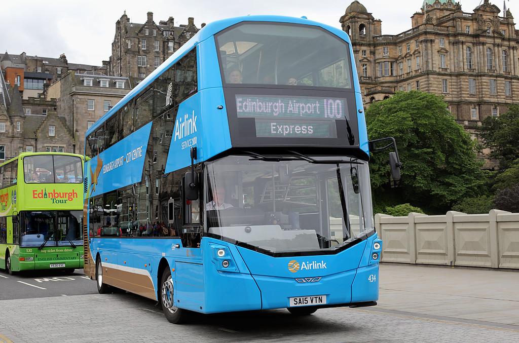 434 SA15VTN, Edinburgh 4/7/2016