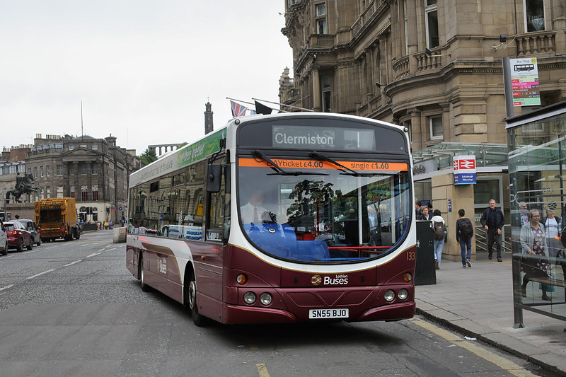 133 SN55BJO, Edinburgh 4/7/2016