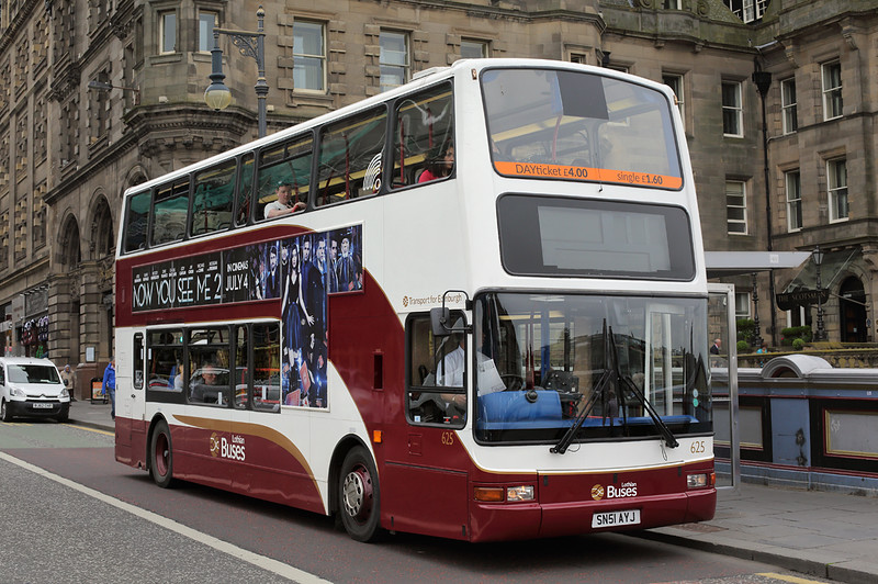 625 SN51AYJ, Edinburgh 4/7/2016
