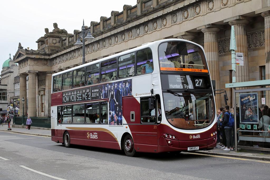 373 SN11ECJ, Edinburgh 4/7/2016