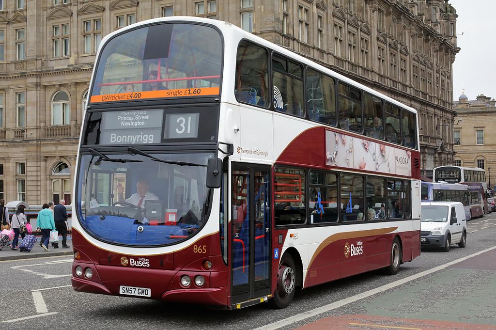 865 SN57GMO, Edinburgh 4/7/2016