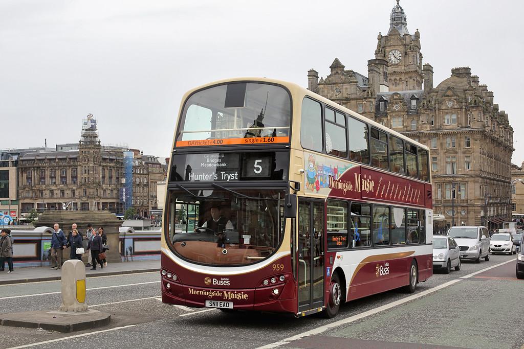 959 SN11EAO, Edinburgh 4/7/2016