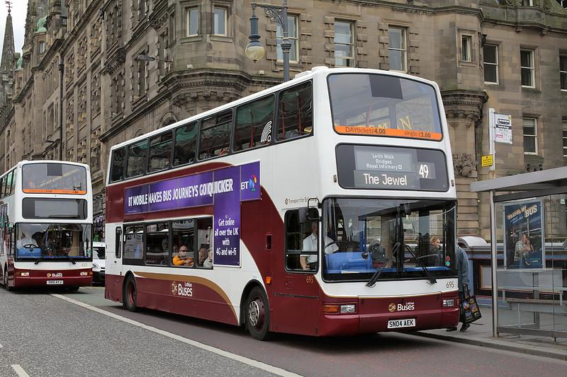 695 SN04AEK, Edinburgh 4/7/2016