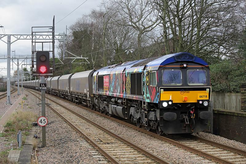 66718 Huyton 5/2/2016<br /> 4M12 0600 Drax PS-Liverpool Bulk Terminal