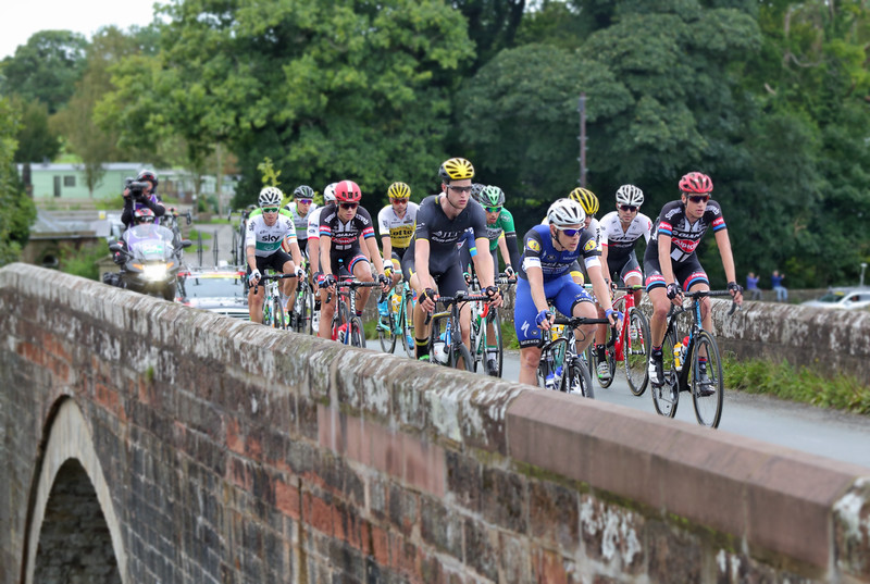 Tour of Britain Cycle Race, Bassenthwaite 5/9/2016