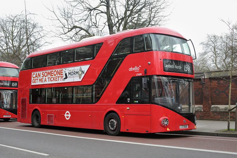 LT609 LTZ1609, Lambeth 6/2/2016