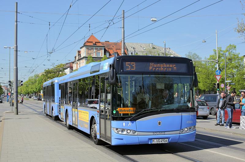 4904 M-VG 4904; Leonrodplatz 6/5/2016