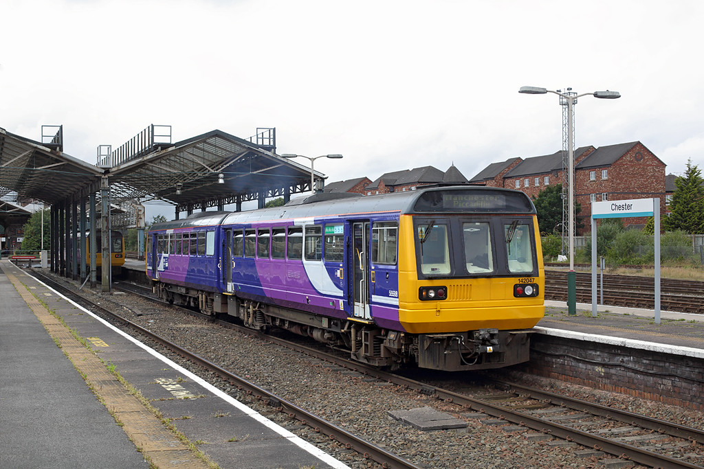 142047 Chester 7/7/2016<br /> 2H35 1259 Chester-Manchester Piccadilly