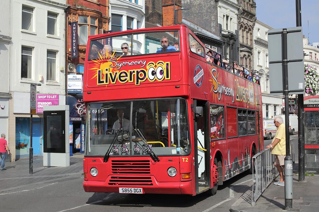 T2 S855DGX, Liverpool 7/9/2016
