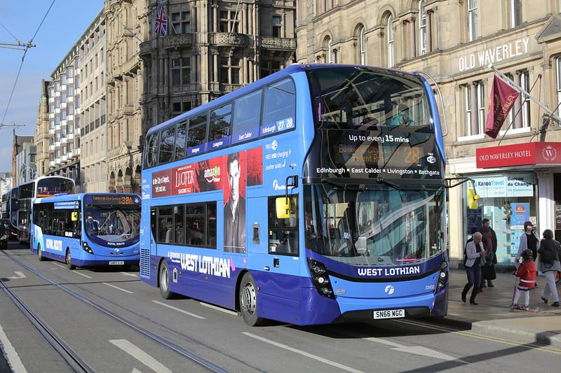 33432 SN66WGC, Edinburgh 8/10/2016