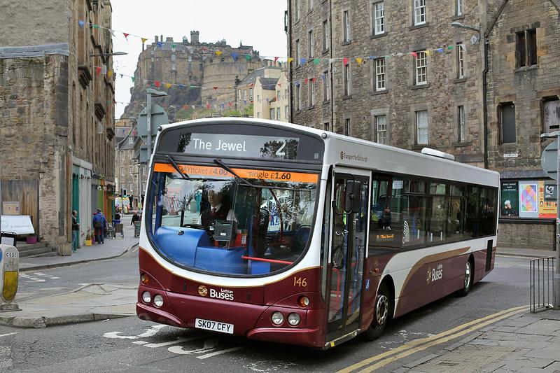 146 SK07CFY, Edinburgh 7/10/2016