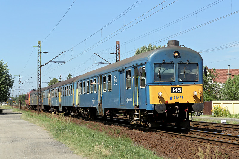 418130 (on rear), Debrecen-Csapókert 11/7/2016<br /> S6325 1214 Fehérgyarmat-Debrecen