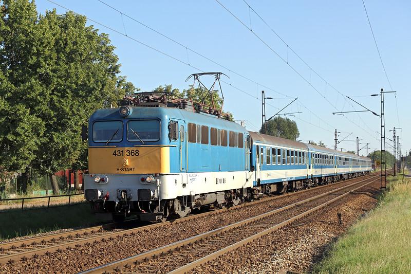 431368 Debrecen-Csapókert 11/7/2016<br /> S6206 1428 Budapest Nyugati-Záhony