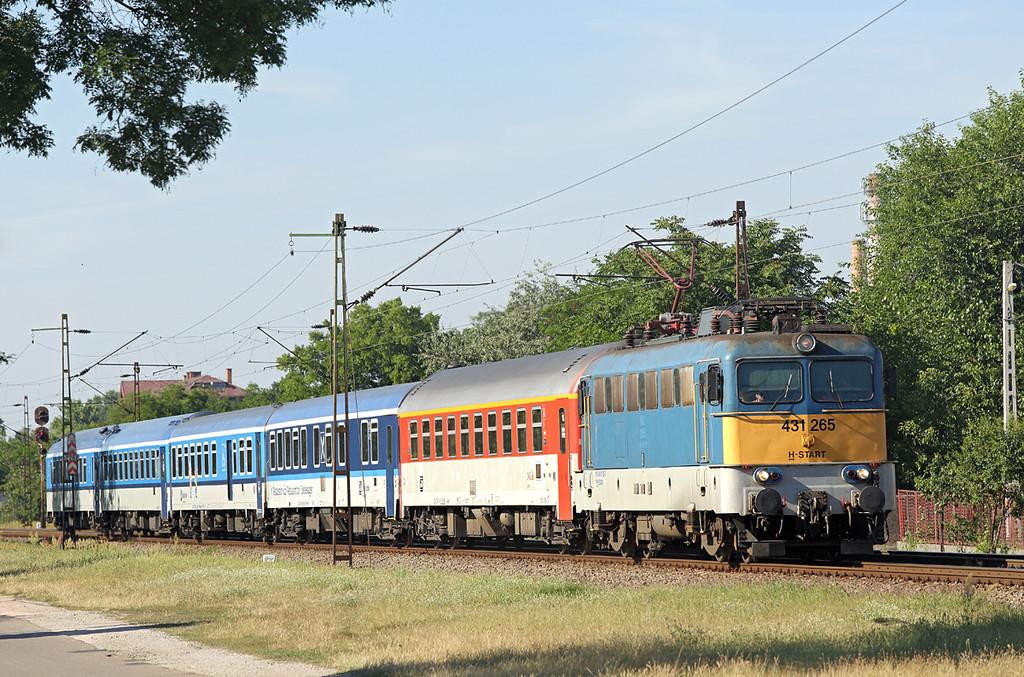 431265 Debrecen-Csapókert 11/7/2016<br /> IC566 1330 Budapest Keleti-Budapest Nyugati (via Miskolc and Debrecen)
