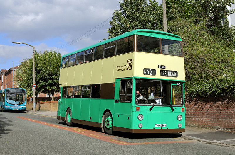 1836 TWM220V, Aigburth Vale 11/9/2016